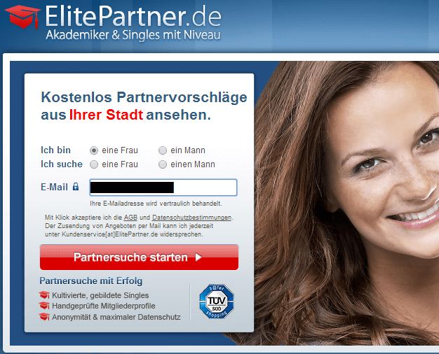 elitepartner fake profile