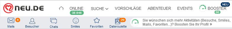 wichtigsten seiten neu.de