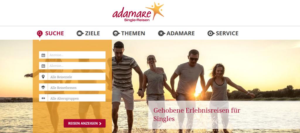 Adamare Single-Reisen