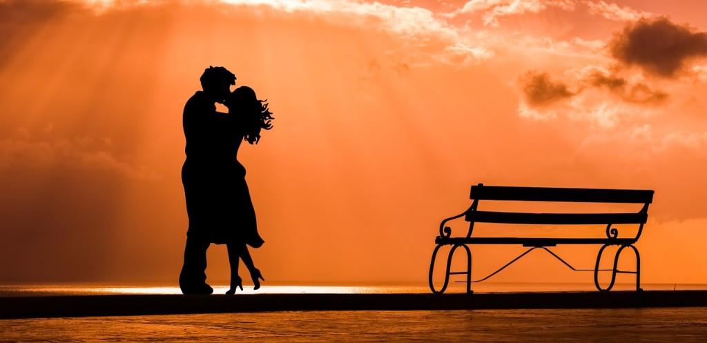 Leidenschaftliche Küsse
