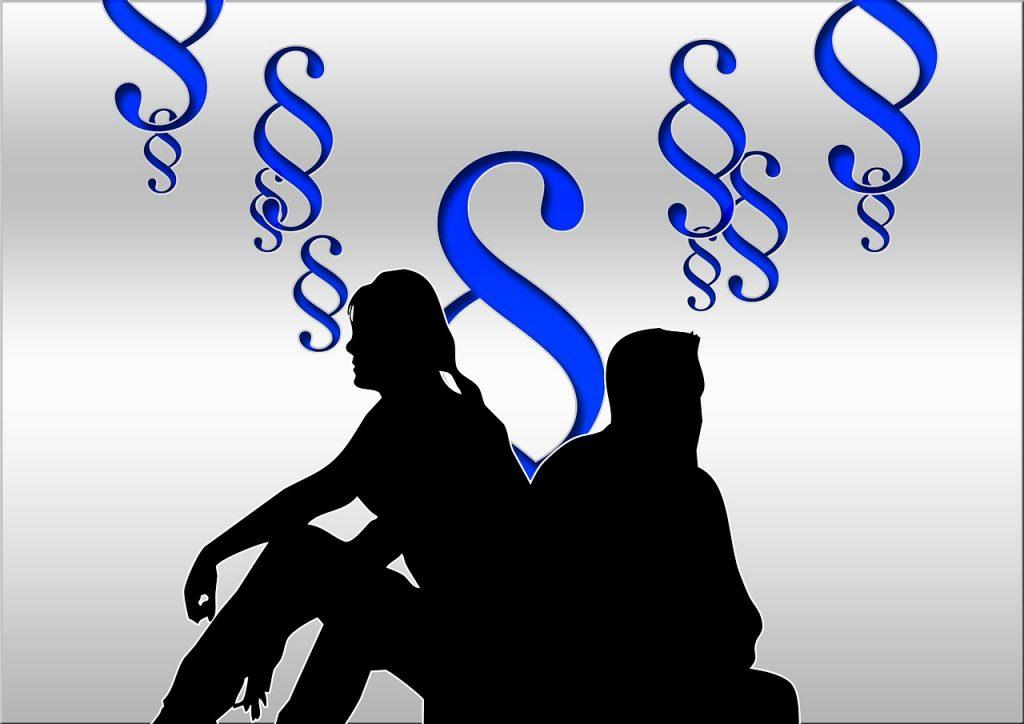 Wie läuft eine Scheidung ab und wer übernimmt die Kosten?