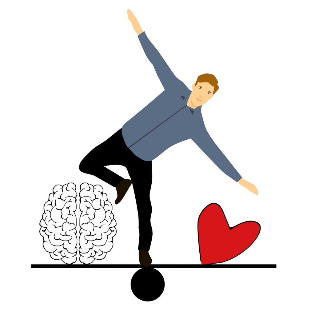 Kopf sagt Nein, Herz sagt Ja – was kannst du tun?