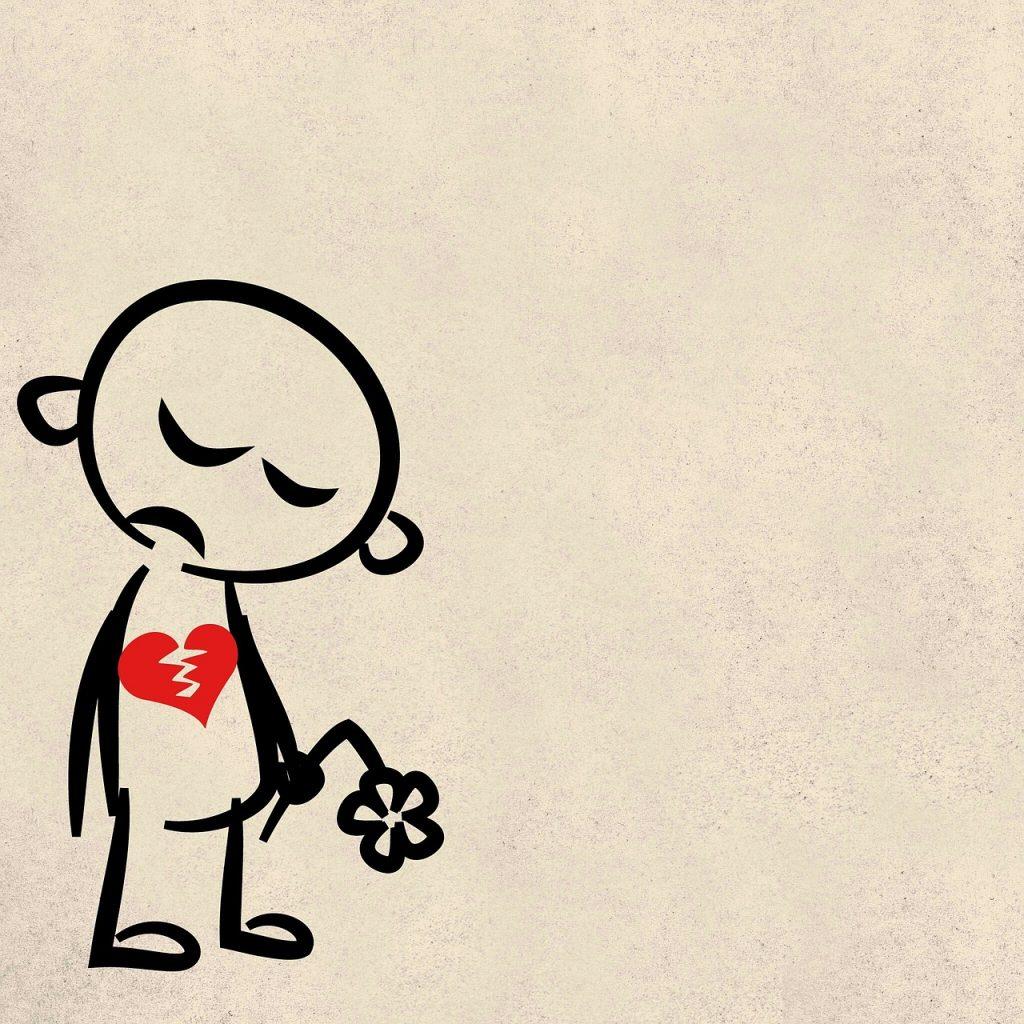 Wenn dir das Herz gebrochen wird
